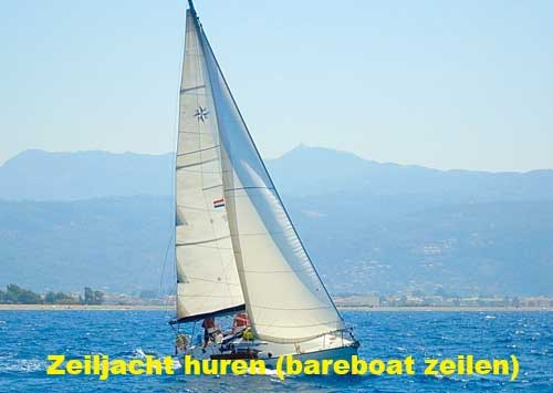 Waar kun je een zeiljacht huren voor een bareboat zeilen zeilvakantie