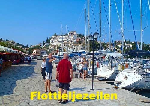 Waar kun je flottieljezeilen