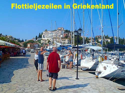 Een zeilboot huren voor een flottielje zeilen in Griekenland.