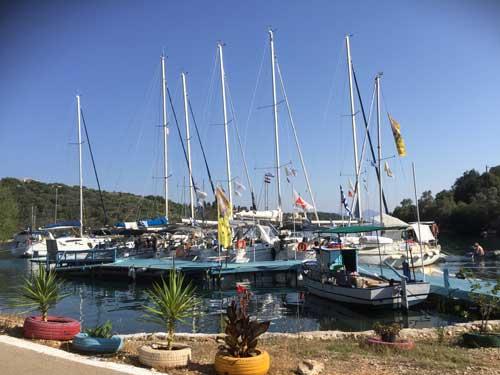 Flottielje zeilen in Griekenland vanuit Lefkas, Corfu en AThene.
