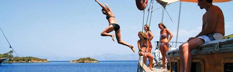 Een Gulet huren bij Special Feeling sailing charters
