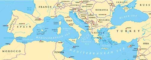 Zeiljacht huren in de Middellandse Zee