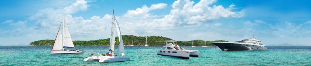 zeiljachten, catamarans en motorjachten te huur