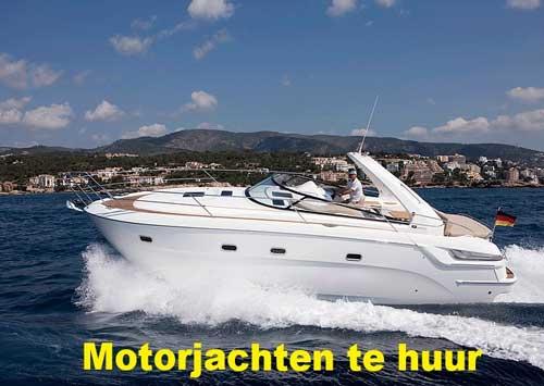 Waar kun je een motorjacht of motorboot huren