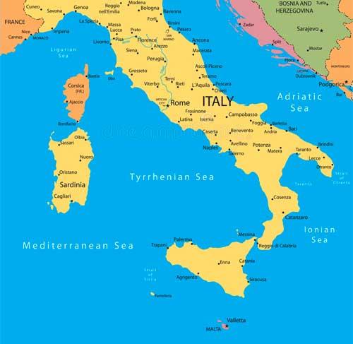 Zeiljachten te huur in Italie voor zeilvakanties