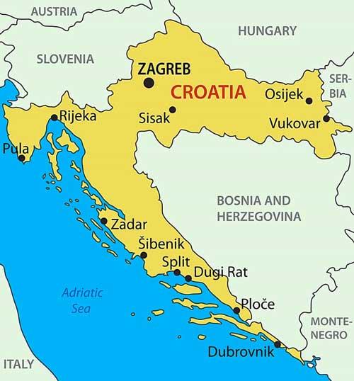 Zeiljachten te huur in Kroatie voor zeilvakanties