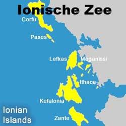Een zeiljacht huren in de Ionische Zee vanuit Corfu, Lefkas en Preveza