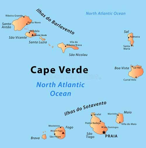 Een zeiljacht huren in de Kaap Verdische Eilanden