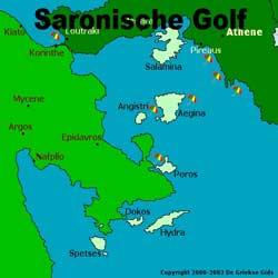 Een zeilboot huren in de Saronische Golf vanuit Athene