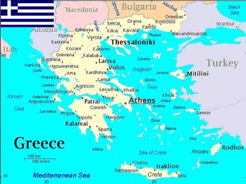 Zeiljachten te huur in Griekenland voor zeilvakanties