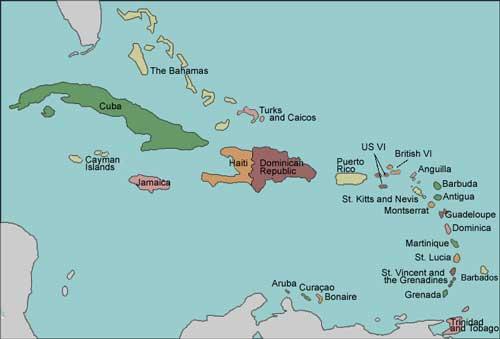 Zeiljacht huren in de Caribbean
