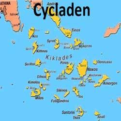 Zeilboot huren in de Cycladen vanuit Lavrion, Paros, Milos, Mykonos en Santorini