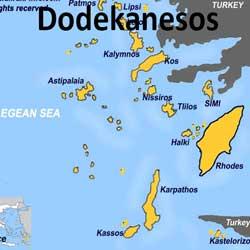 Een zeilboot huren in de Dodecanesos vanaf Kos en Rhodos