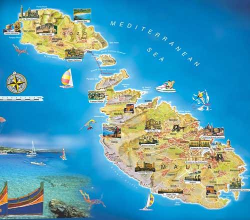 Zeiljachten te huur op Malta voor zeilvakanties