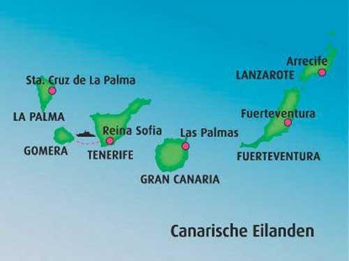 Zeiljachten te huur in de Canarische Eilanden