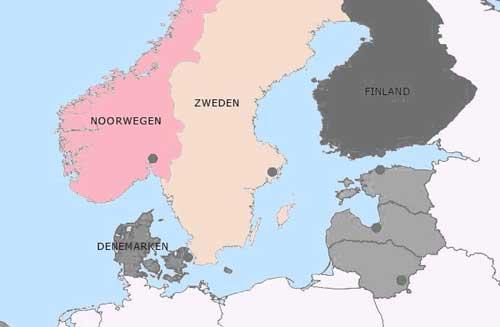 Zeiljachten te huur in de Scandinavische landen