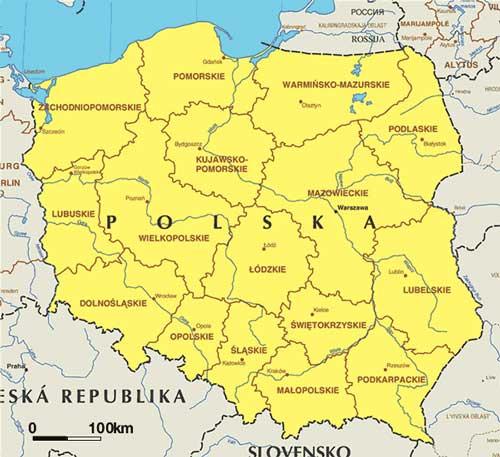 een zeiljacht huren in Polen