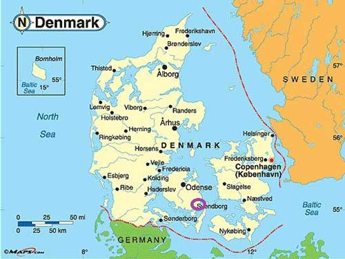 Een zeiljacht huren in Denemarken
