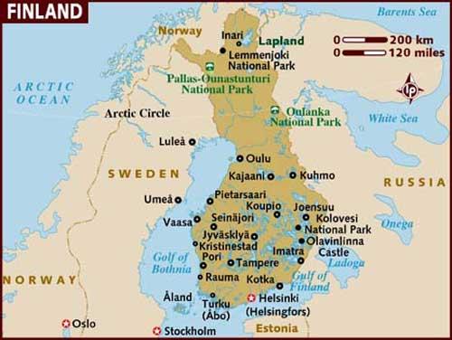 Een zeiljacht huren in Finland