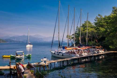 Flottielje zeilen in Turkije vanuit Gocek en Fethiye