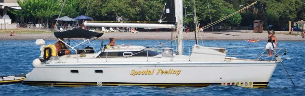 Zeilboten te huur voor zeilvakanties bij Special Feeling sailing charters wereldwijd