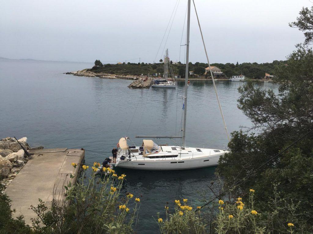 Een zeilboot huren voor een flottielje zeilen zeilvakantie in Griekenland.