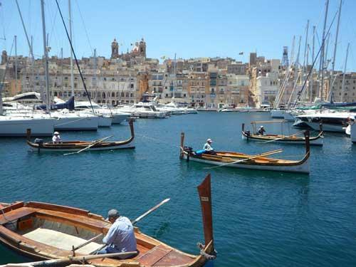 Zeiljachten huren op Malta