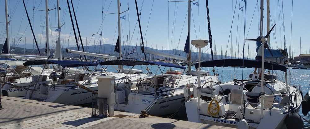 Flottielje zeilen met Special Feeling zeilvakanties vanuit Lefkas Griekenland