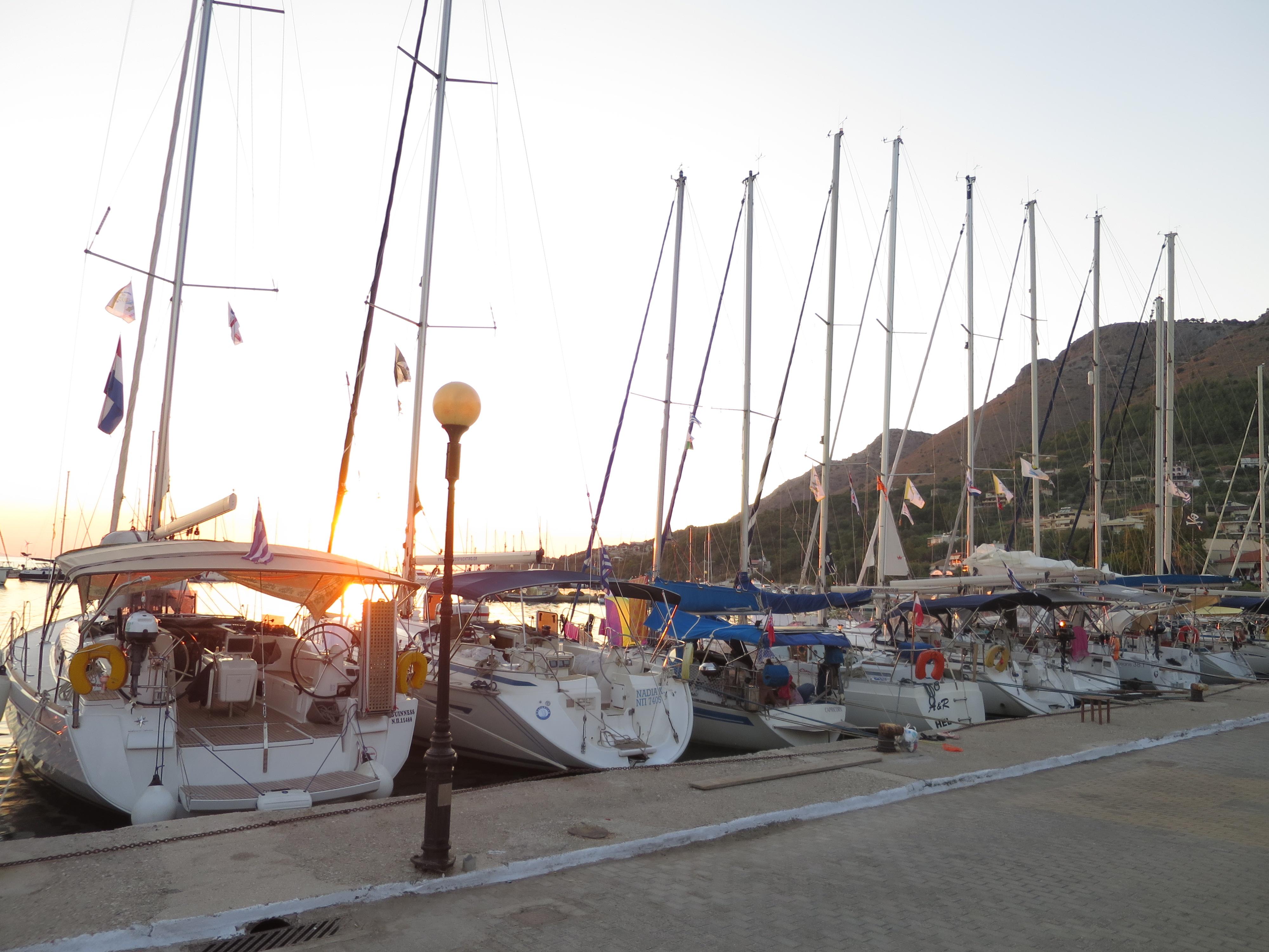 Flottielje zeilen in diverse landen rond de Middellandse Zee en de Caribbean.