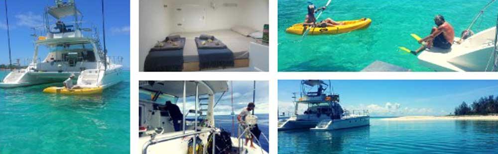 Catamarans (met schipper) te huur in Tanzania
