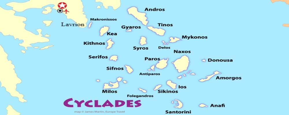 Een zeilboot huren in de Cycladen vanuit Lavrion, Paros, Mykonos, Syros en Santorini