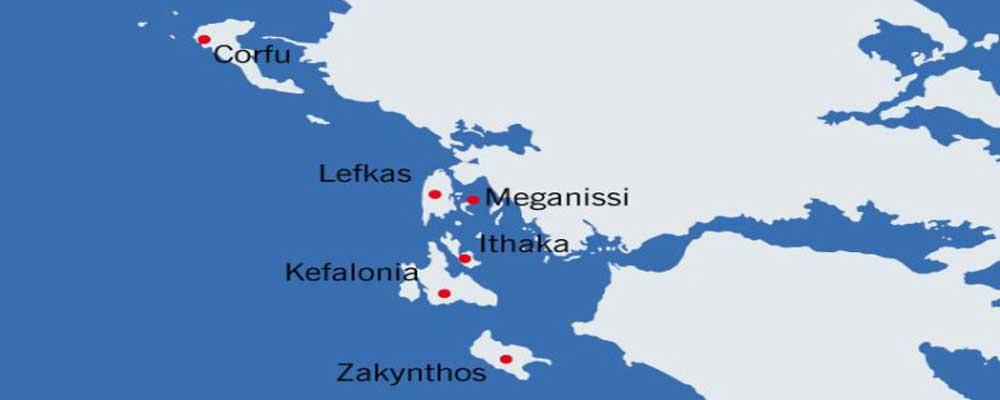 Een zeilboot huren in de Ionische Zee vanuit Corfu. Preveza, Lefkas en Sami