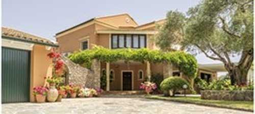 Villa huren op Corfu in Griekenland