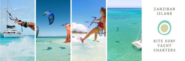 Kite surfing langs onontdekte eilanden
