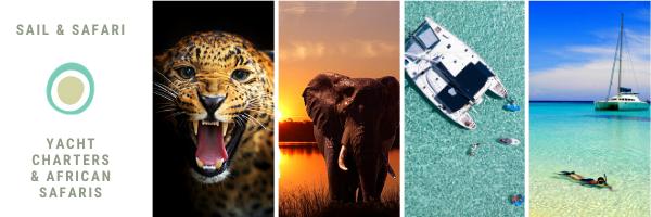 Zeilen en op safari in Afrika