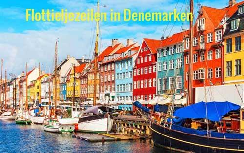 Flottielje zeilen in Denemarken vanuit Flensburg